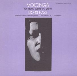 Voicings for Tape/Soprano/Piano album cover