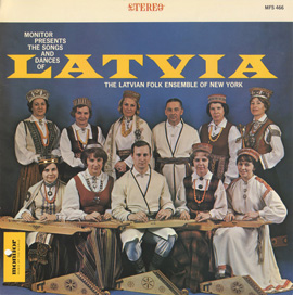 Latvian Folk Ensemble of New York, Vol. 1