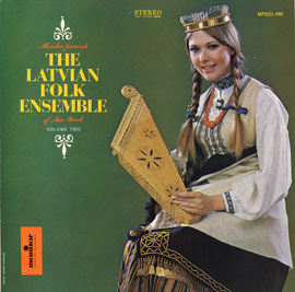 Latvian Folk Ensemble of New York, Vol. 2
