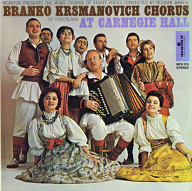 The Branko Krsmanovich Chorus of Yugoslavia at Carnegie Hall