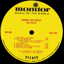 Journey into Russia with Yulya