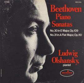Beethoven Piano Sonatas: No. 30 in E Major, Op. 109; No. 31 in A-Flat Major, Op. 110