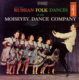 Russian Folk Dances of the Moiseyev Dance Company