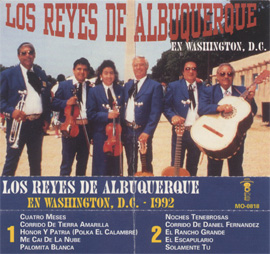 Los Reyes de Albuquerque en Washington, DC - 1992 album cover