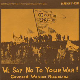 We Say No to Your War!