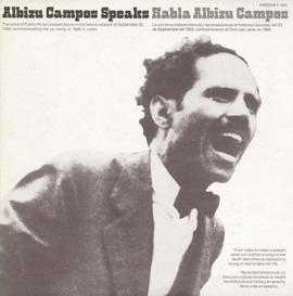 Habla Albizu Campos (Albizu Campos Speaks)