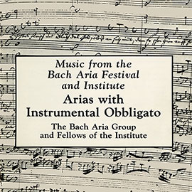 Arias with Instrumental Obbligato
