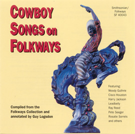 Cowboy Songs on Folkways