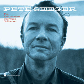 Pete Seeger, The Smithsonian Folkways Collection album cover