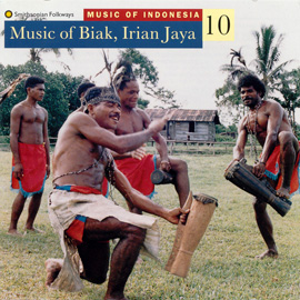 Music of Indonesia, Vol. 10: Music of Biak, Irian Jaya