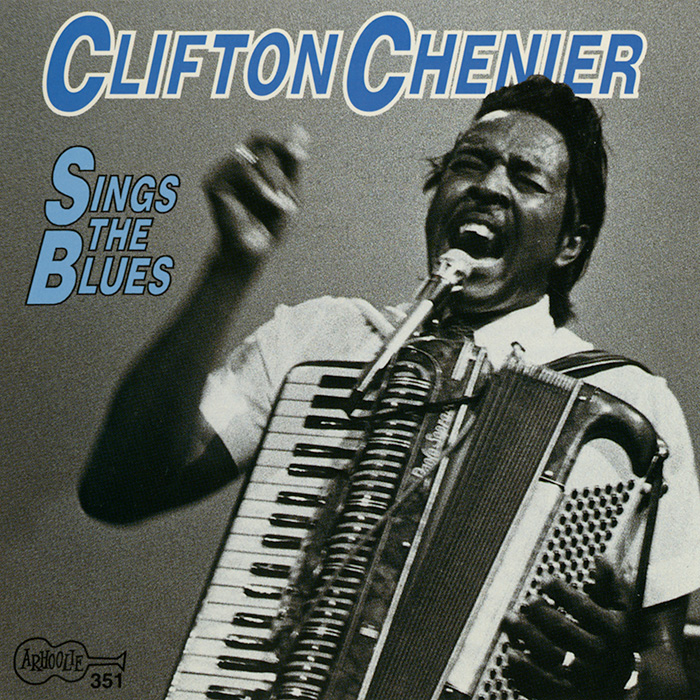Clifton Sings the Blues CD artwork