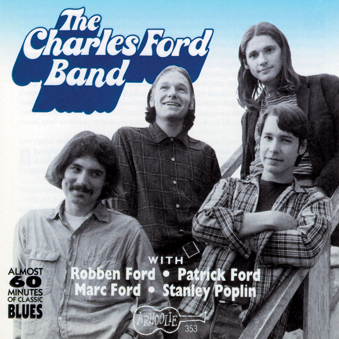 The Charles Ford Band CD artwork
