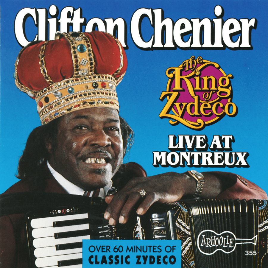 The King Of Zydeco Live at Montreux CD artwork