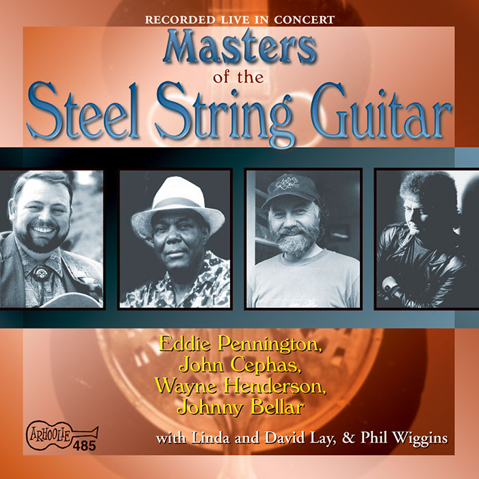 Masters of the Steel String Guitar album cover