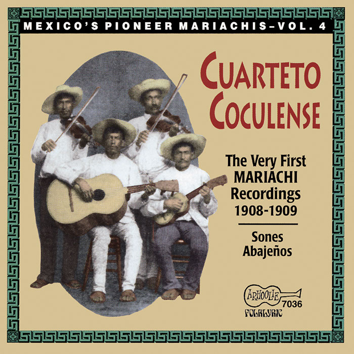 The Very First Recorded Mariachis: 1908-1909