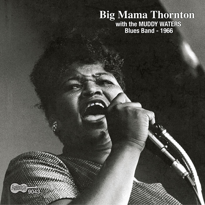 Big Mama Thornton with the Muddy Waters Blues Band - 1966 CD artwork