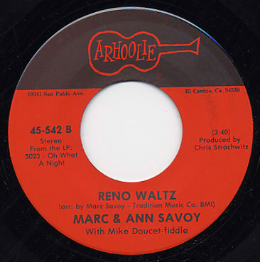 Le Reve Des Soulards (The Drunkard's Dream) / Reno Waltz