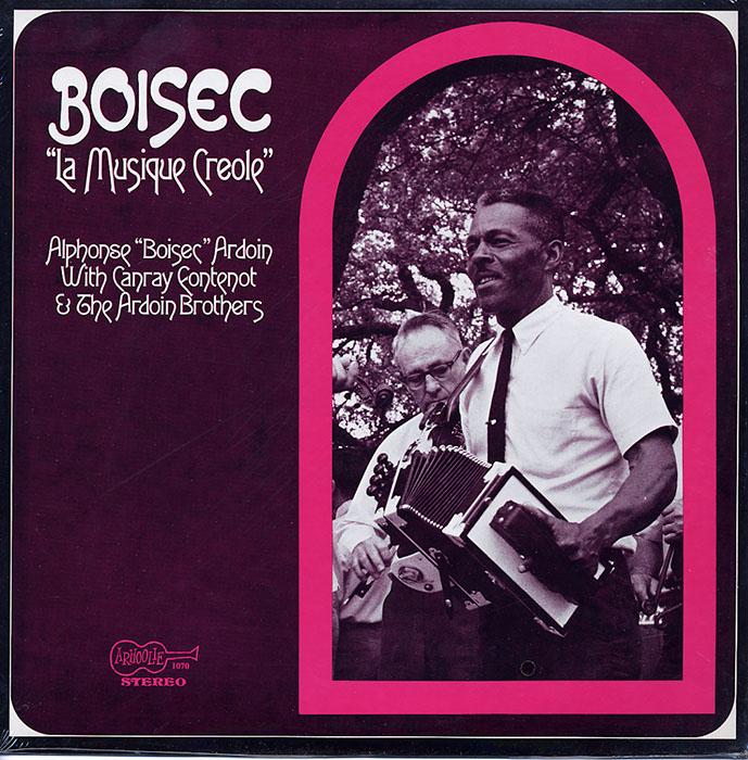 La Musique Creole vinyl LP artwork
