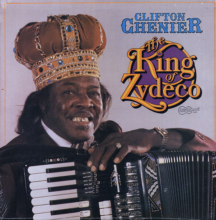 The King Of Zydeco Live at Montreux vinyl LP artwork