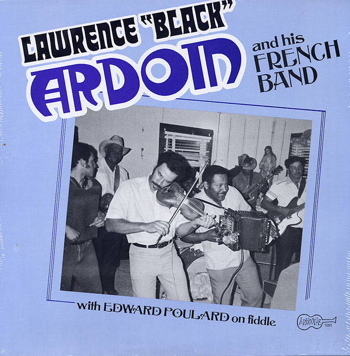 Lawrence Black Ardoin and His French Zydeco Band