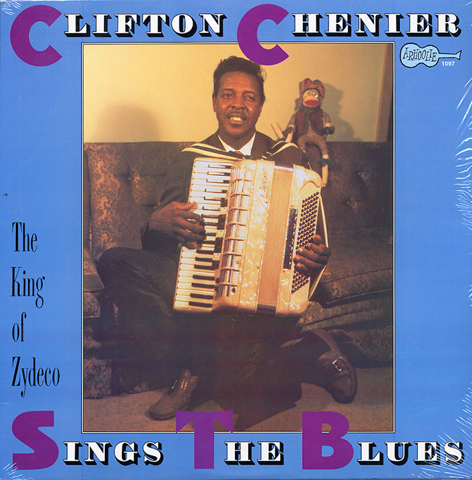 Clifton Sings the Blues vinyl LP artwork