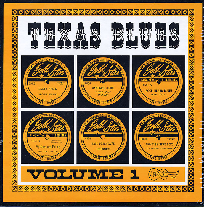 Texas Blues Vol. 1