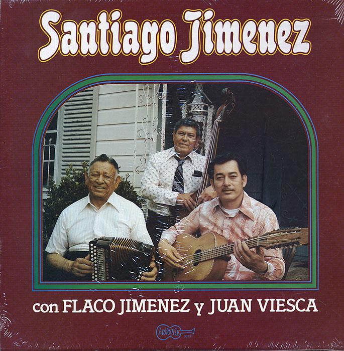 Santiago Jimenez con Flaco Jimenez y Juan Viesca