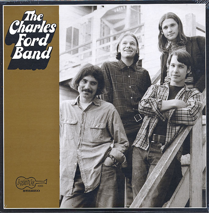 The Charles Ford Band vinyl LP artwork