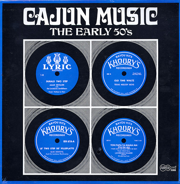 Cajun Music - The Early 50's