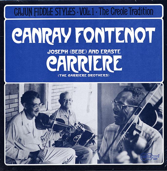 Cajun Fiddle Styles Vol. 1