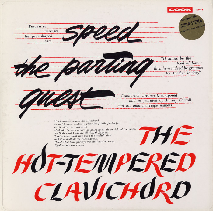 Speed the Parting Guest/The Hot-Tempered Clavichord