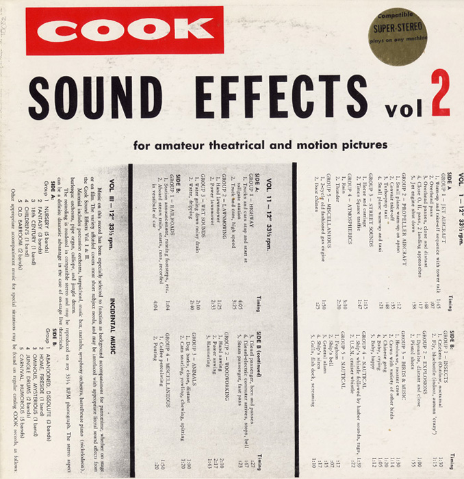 Sound Effects, Vol. 2