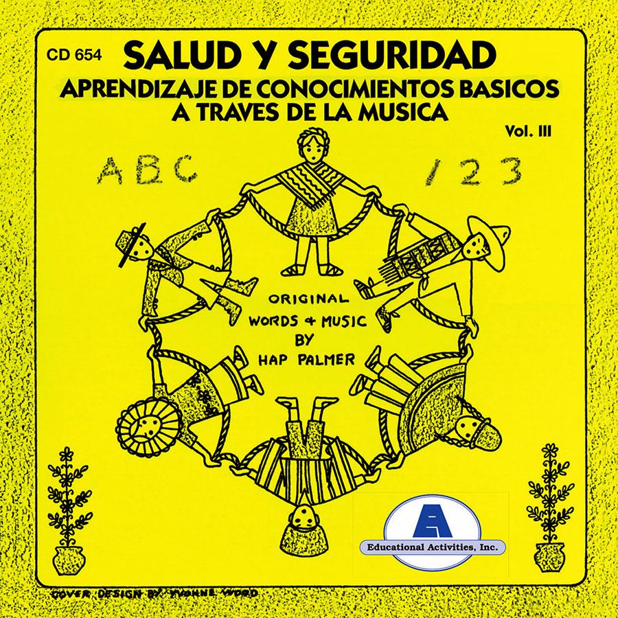 Aprendizaje de conocimientos basicos a traves de la musica, vol. 3: Salud y seguridad