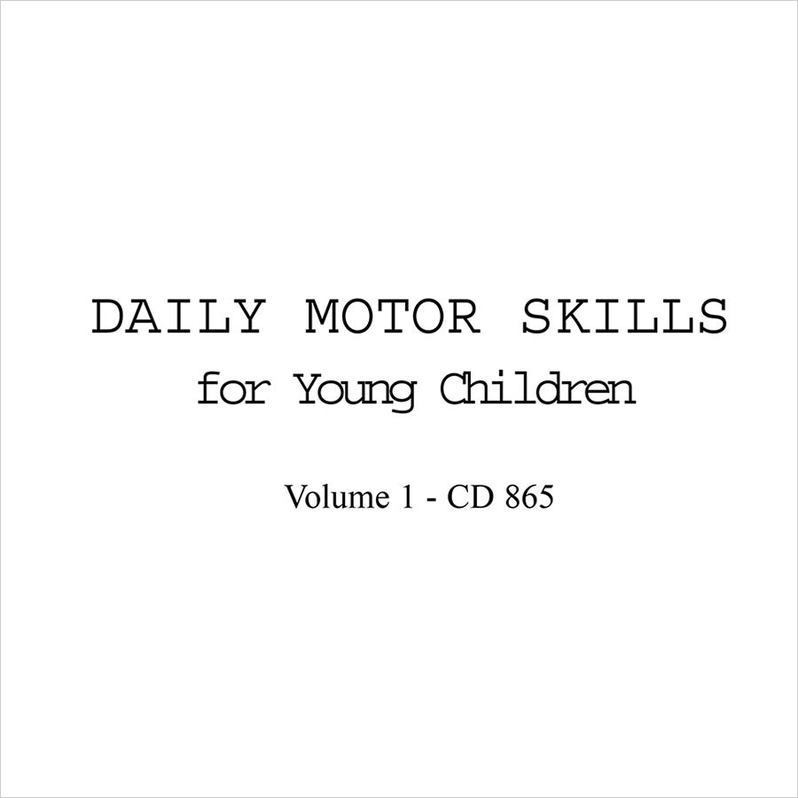 Daily Motor Skills for Young Children, Vol. 1