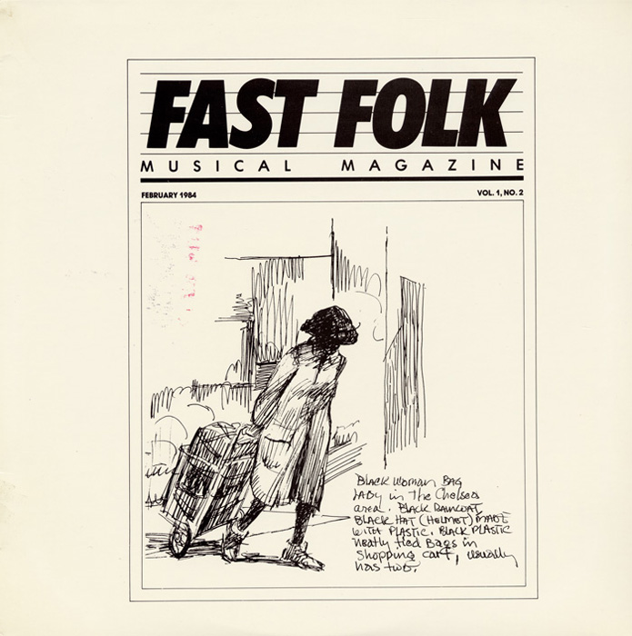 Fast Folk Musical Magazine (Vol. 1, No. 2)