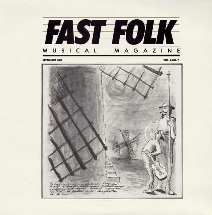 Fast Folk Musical Magazine (Vol. 1, No. 7)