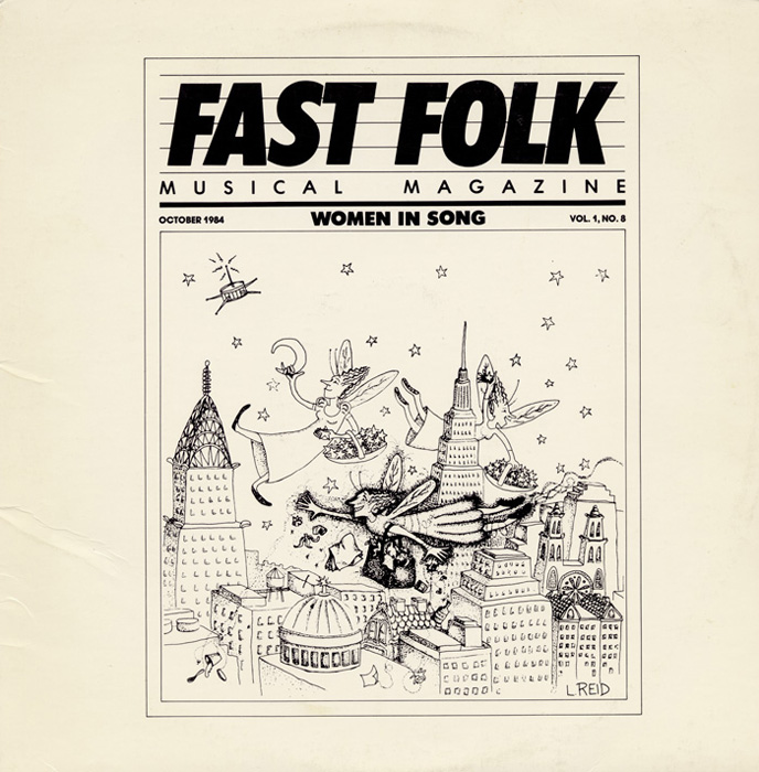 Fast Folk Musical Magazine (Vol. 1, No. 8) Women in Song
