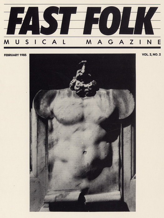 Fast Folk Musical Magazine (Vol. 2, No. 2) Heroic Torso