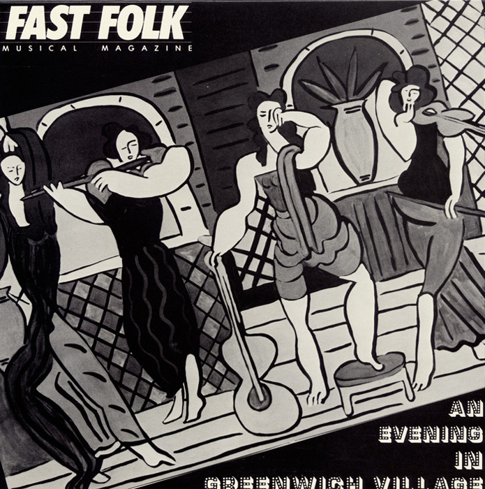 Fast Folk Musical Magazine (Vol. 4, No. 4) An Evening in Greenwich Village