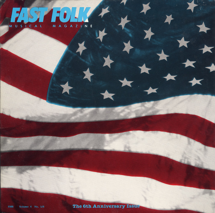 Fast Folk Musical Magazine (Vol. 4, No. 6) 6th Anniversary Album - The Flag Album