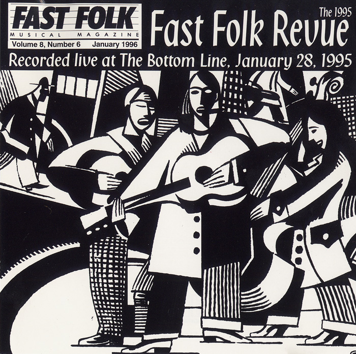 Fast Folk Musical Magazine (Vol. 8, No. 6) 1995 Fast Folk Revue-Live at the Bottom Line
