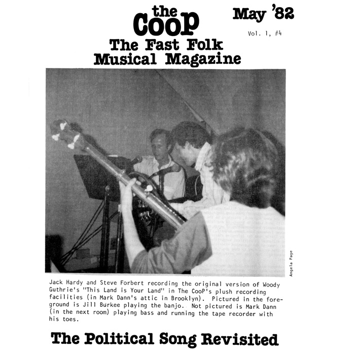 CooP - Fast Folk Musical Magazine (Vol.1, No. 4) The Political Song Revisited