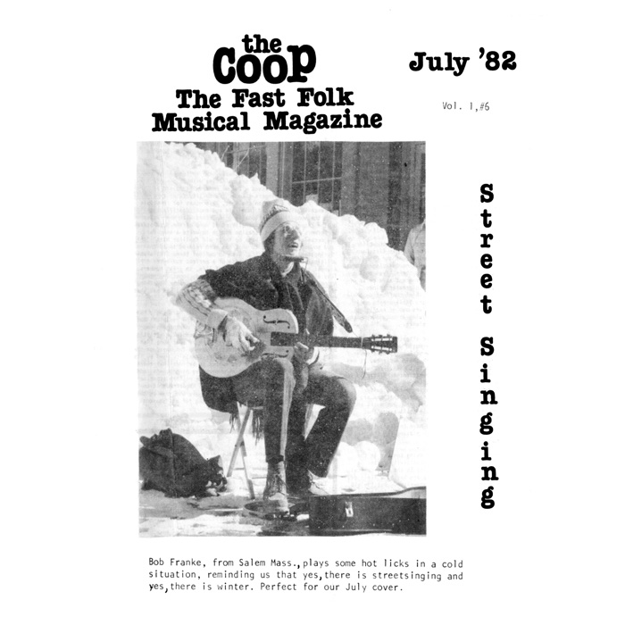 CooP - Fast Folk Musical Magazine (Vol. 1, No. 6) Street Singing