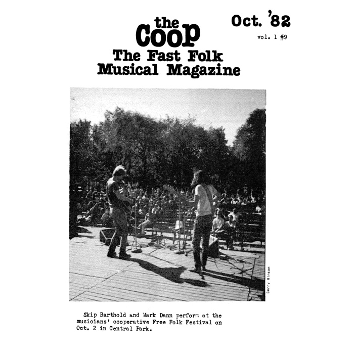 CooP - Fast Folk Musical Magazine (Vol. 1, No. 9)