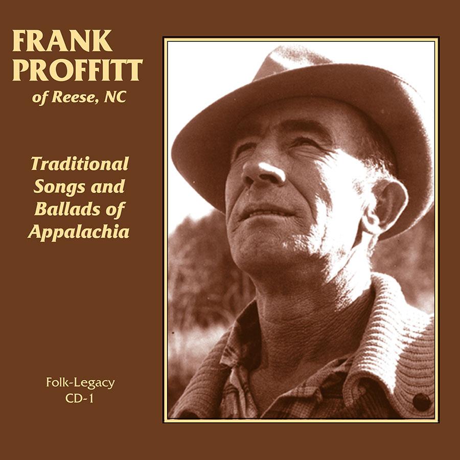 Frank Proffitt of Reese, North Carolina, CD artwork