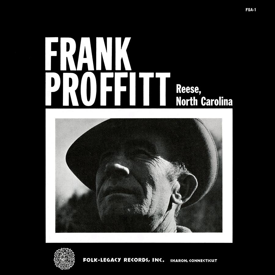 Frank Proffitt of Reese, North Carolina, LP artwork