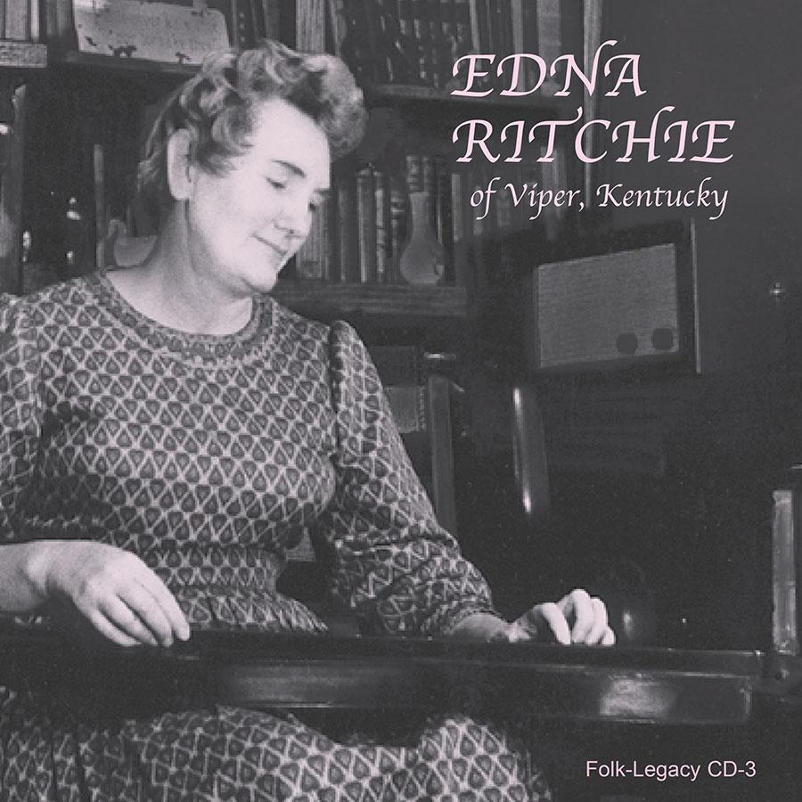 Edna Ritchie of Viper, Kentucky, CD artwork