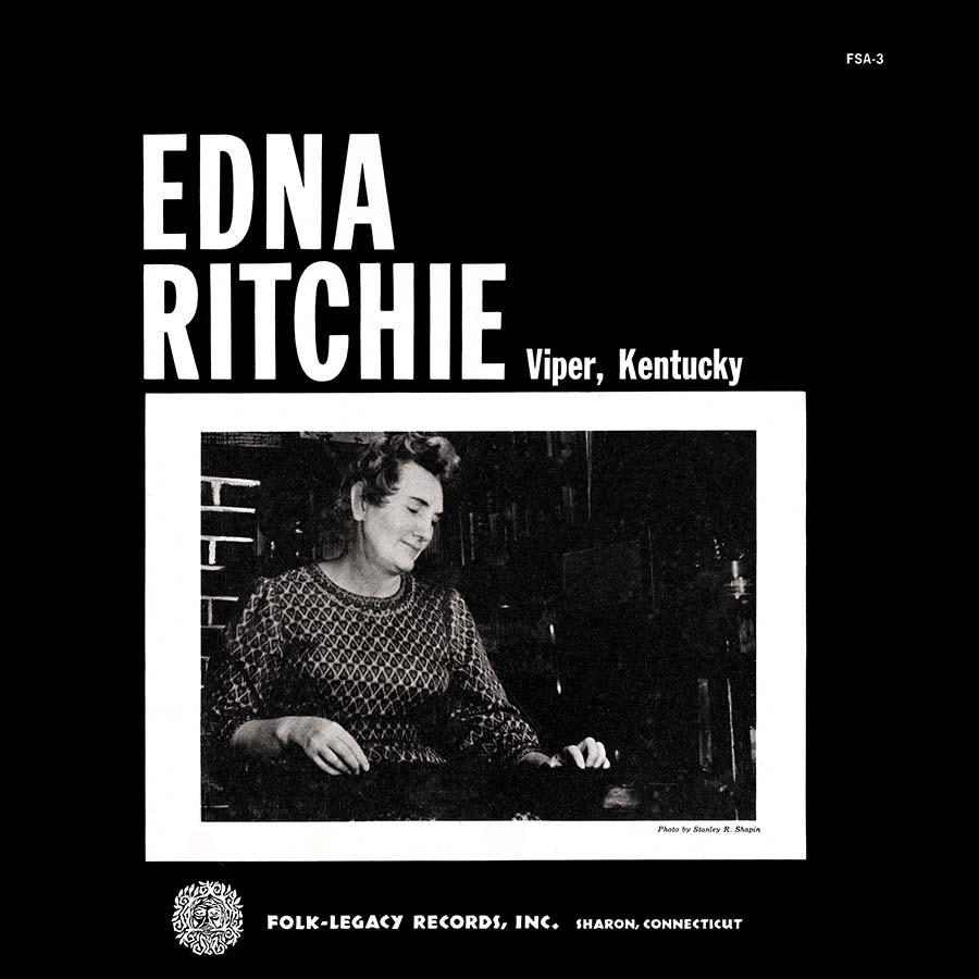 Edna Ritchie of Viper, Kentucky, LP artwork