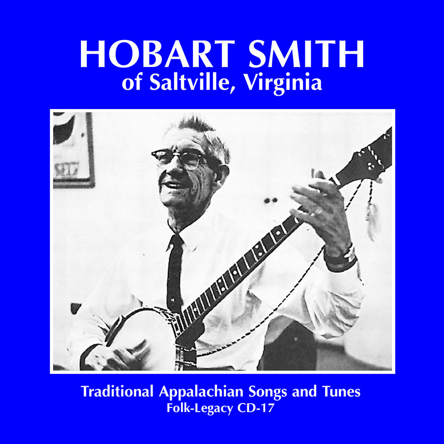 Hobart Smith of Saltville, Virginia, CD artwork