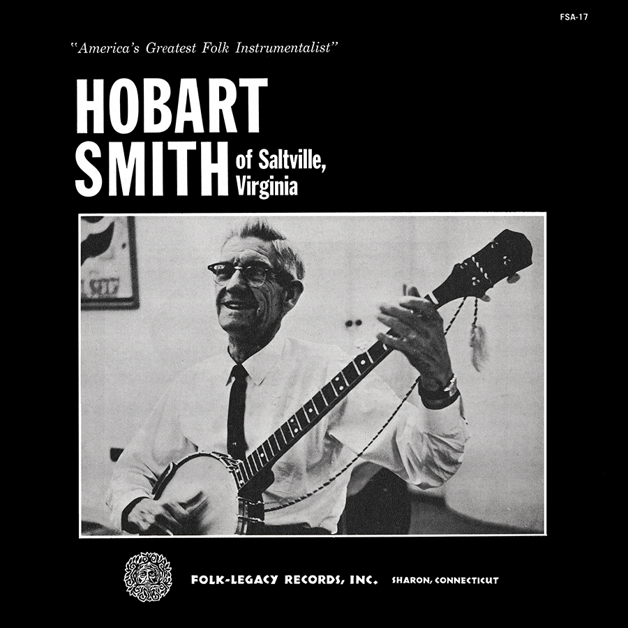 Hobart Smith of Saltville, Virginia, LP artwork